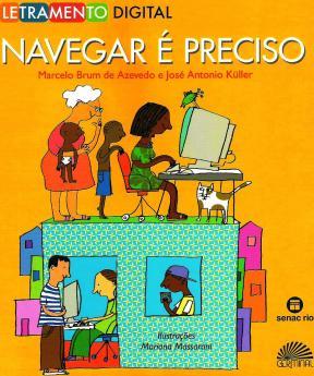 Capa do livro Navegar é Preciso - ilustração de Mariana Massarani